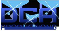 DCA productions logo